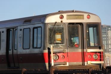 Redline Train, Boston, Aug 2013