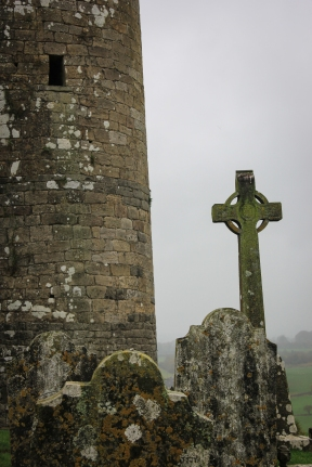 Celtic Cross At Rock of Cashel, Cashel