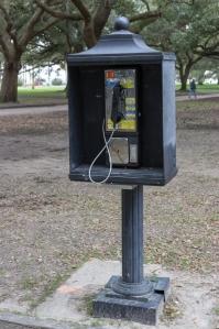 A public telephone?!
